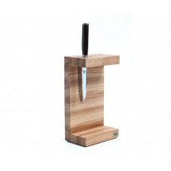 DM-0803 Knife block KAI - C shaped - oak