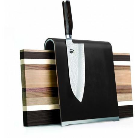 SGS1 Magnetický blok na nože KAI - kůže, hliník