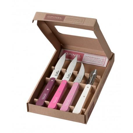 Set kuchynských nožov OPINEL Essentials Primarosa