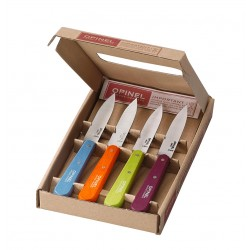 Set of 4 kitchen knives OPINEL Essentials N°112 Pop