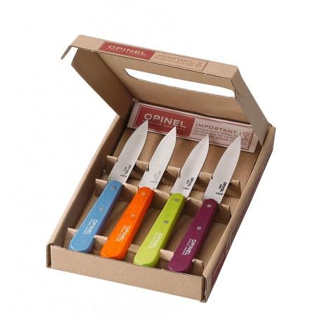 Set of 4 kitchen knives OPINEL Essentials N°112 Pop
