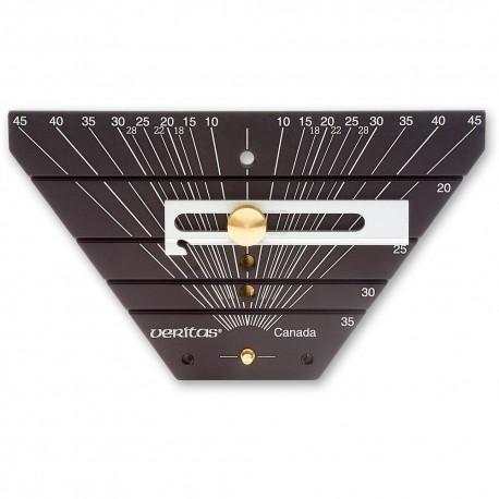 Přípravek na měření úhlu zkosených dlátVeritas 05M09.03