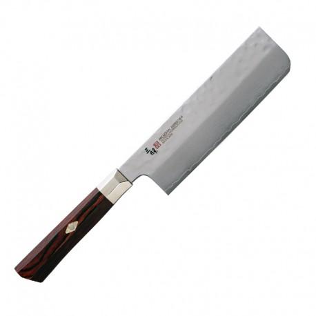 TZ2-4008DH SUPREME HAMMERED Nakiri vegetable knife 16,5cm MCUSTA ZANMAI