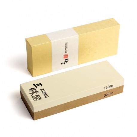 Kombinovaný 1000/6000 brusný kámen MCUSTA ZANMAI WS-COM-1000/6000