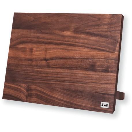 DM-0806 Dřevěná magnetická deska na nože KAI ořech