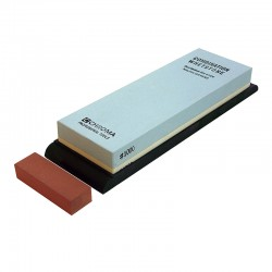 1000/6500 CHROMA ST-1/6 combination sharpening stone with Toishi