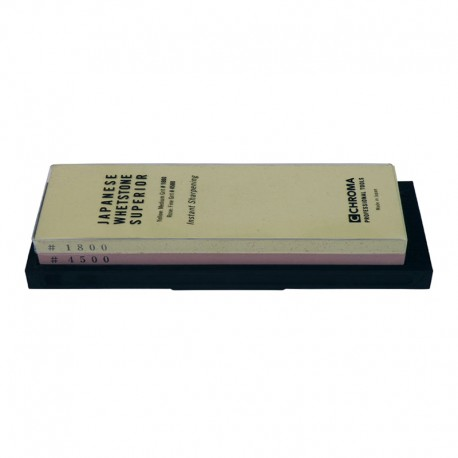 1800/4500 CHROMA Superior ST-IS2 combination sharpening stone