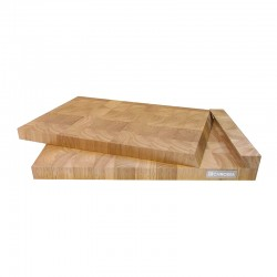 CB-3 CHROMA Butcher Board Guminoki (set of two boards)