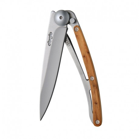 9CB002 Wood nůž Deejo 27g Juniper