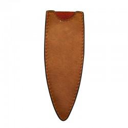 DEE500 Kožené pouzdro pro nůž Deejo 37g přírodní hnědá
