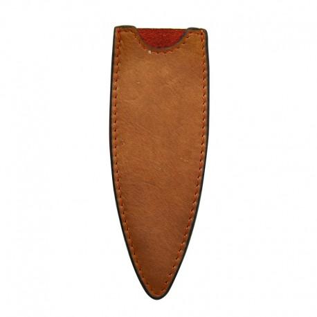 DEE501 Kožené pouzdro pro nůž Deejo 27g přírodní hnědá