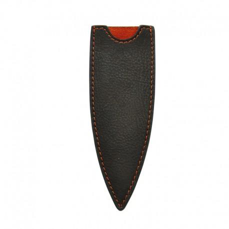 DEE502 Leather sheath for Deejo 37g Mocca