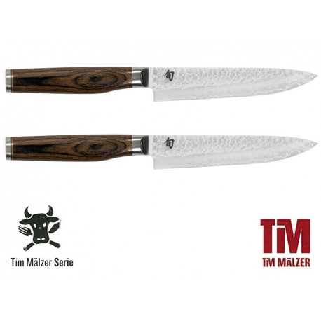 TDMS-400 SHUN TIM MÄLZER Set steakových nožů, délka ostří 9 cm, 2 ks
