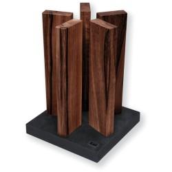 STH-4 Blok na nože KAI Stonehenge - orech