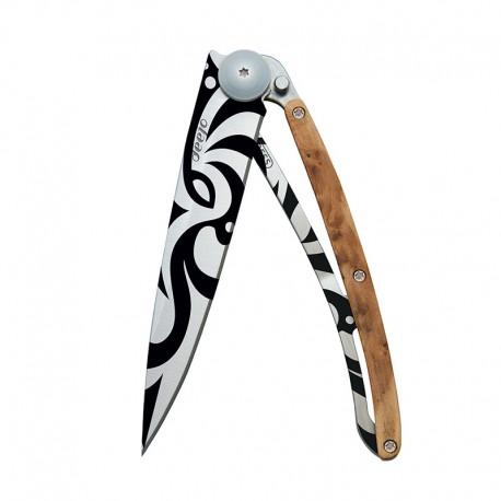 1CB020 Tattoo TRIBAL nůž Deejo 37g Juniper