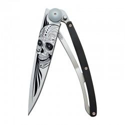 1CB021 Tattoo LATINO SKULL nůž Deejo 37g Granadilla