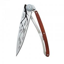 1CB022 Tattoo TREE nůž Deejo 37g Rosewood
