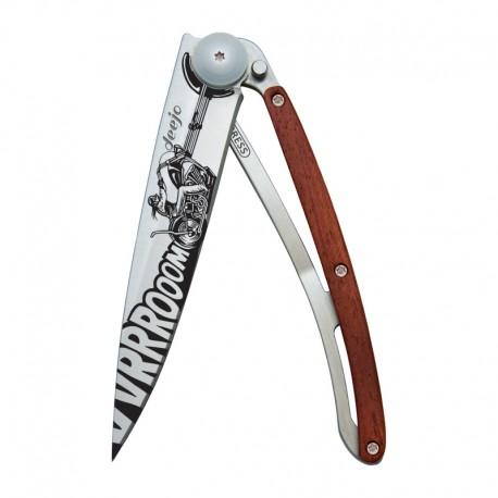 1CB023 Tattoo VROOM nůž Deejo 37g Rosewood