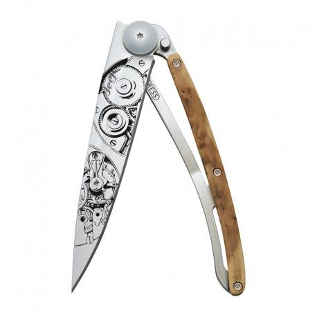 1CB035 Tattoo WATCHMAKER nůž Deejo 37g Juniper