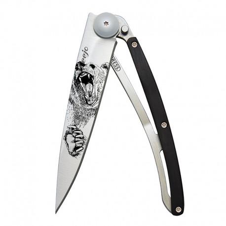 1CB040 Tattoo GRIZZLY nůž Deejo 37g Granadilla