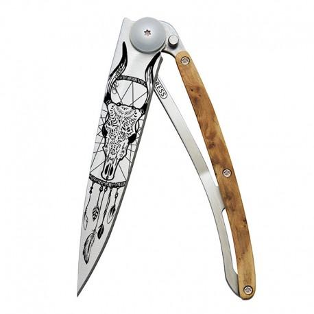 1CB043 Tattoo DREAMCATCHER nůž Deejo 37g Juniper