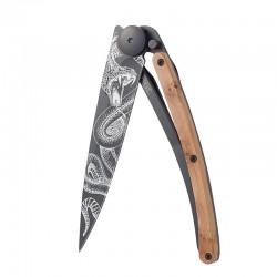1GB127 Tattoo SNAKE nůž Deejo 37g Juniper