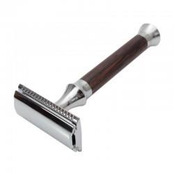 1365 safety razor G&F Timor Closed Comb Wenge with case