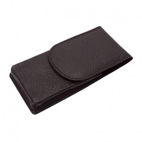 35011 Leather case G&F Timor for safety razor