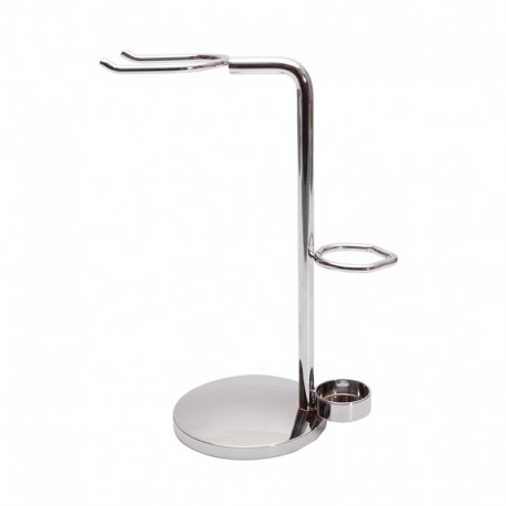 Shaving stand for shaving brush and straight or safety razor 1427
