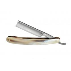 Straight razor Böker Damascus horn 140523DAM