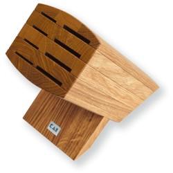 6600-BN KAI WASABI Blok na nože dubový