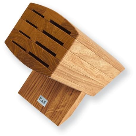 6600-BN KAI WASABI Knife block Oak