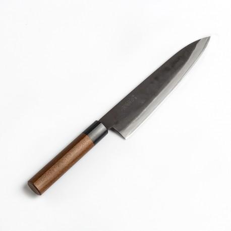 7355K Gyuto Chef knife 21 cm KYUSAKICHI Black ZDP189