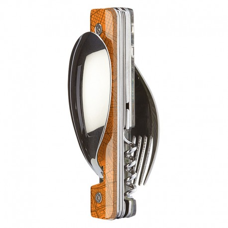 Multifunction magnetic cutlery set Akinod 13h25 Downtown Orange