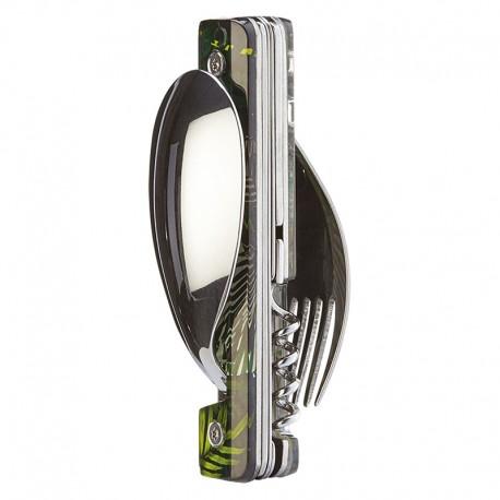 Multifunction magnetic cutlery set Akinod 13h25 Jungle