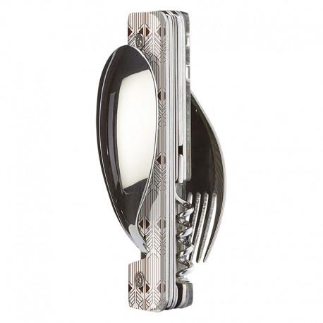Multifunction magnetic cutlery set Akinod 13h25 Art Déco