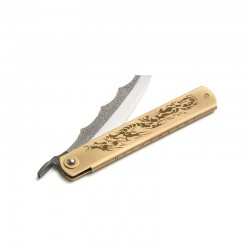 Higonokami knife Ryubu Dragon Brass