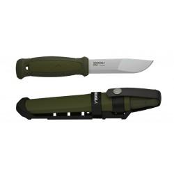 Morakniv nůž Kansbol zelený s Multi-Mount 12645