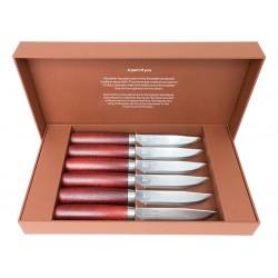 Set of 6 steak knives Morakniv Classic 13662