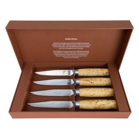 Set of 4 steak knives Morakniv Masur 13669
