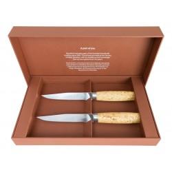 Set of 2 steak knives Morakniv Masur 13670