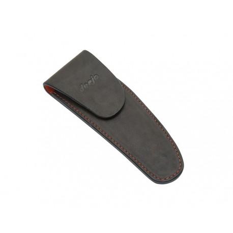 DEE505 Kožené pouzdro pro nůž Deejo 37g hnědá mocca