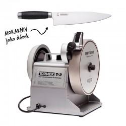 Tormek T-2 grinder + Morakniv Classic 1891 Chef knife